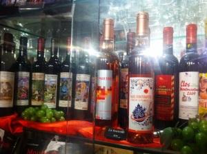 A l'Office de tourisme, le Clos Montmartre est à 50€... la bouteille !