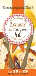 Loupiac et foie-gras, les 28 et 29 novembre 2015
